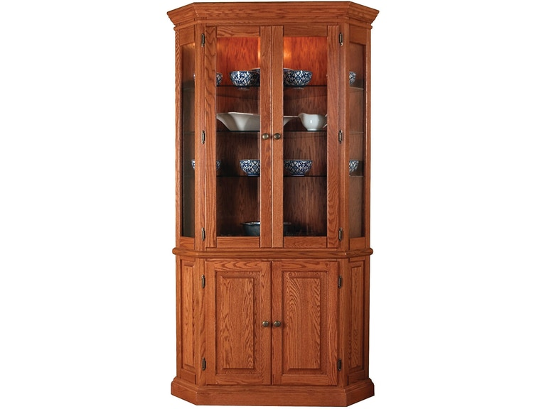 Willow Valley Dining Room Corner China Cabinet WV4147