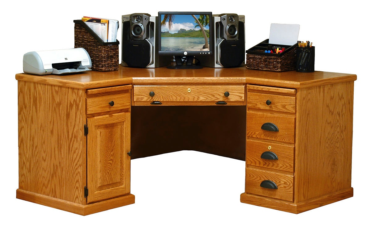 Willow Valley Home Office Corner Computer Desk Wv5144 Borofkas
