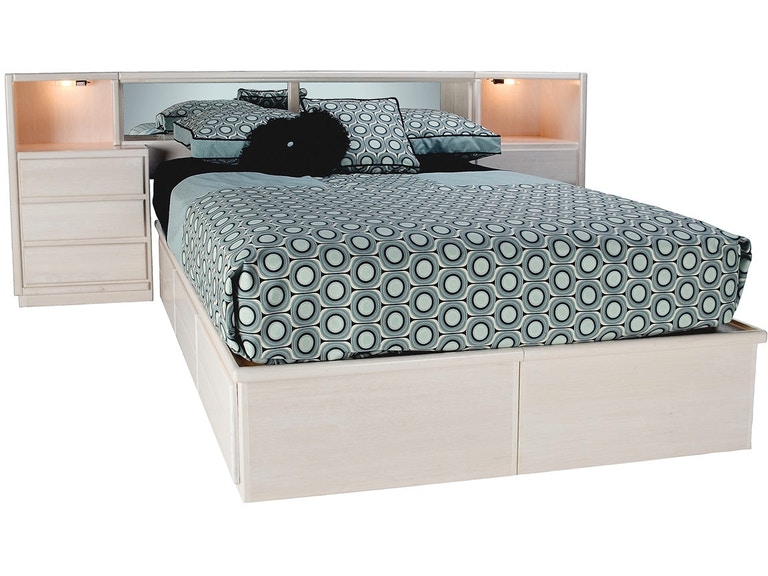 Willow Valley Bedroom Low Bed Wall Drawers Wv9500 Dr Borofka S