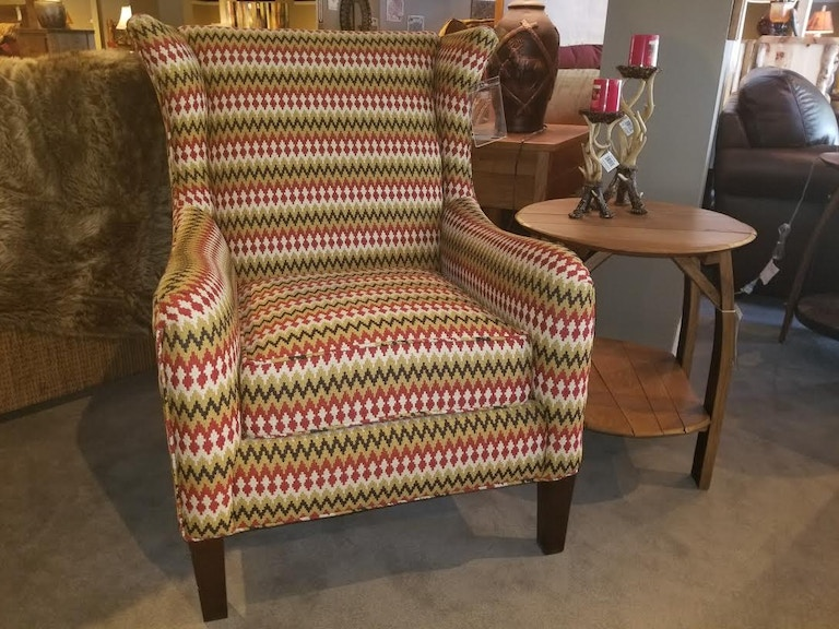 Hekman Living Room Clearance Accent Chair 1728 At Bennington Furniture