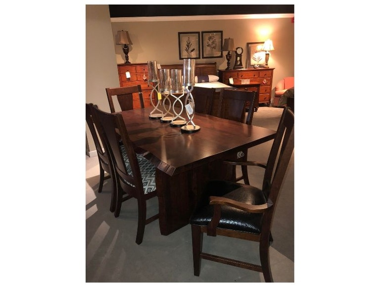CLEARANCE SOLID CHERRY DINING SET