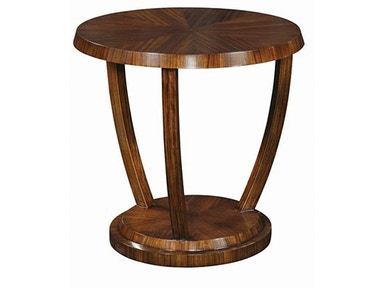 Emerson Bentley Zebrano Accent Table 11027