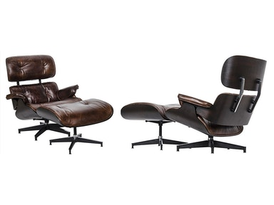 Showroom Specials Eames Lounge Chair and Ottoman 2401-02