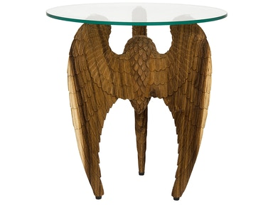 Showroom Specials Carved Wing Table 31640