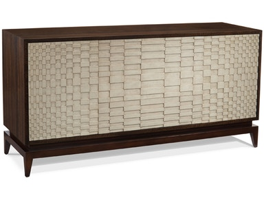 Showroom Specials Smoky White Credenza 2401-07