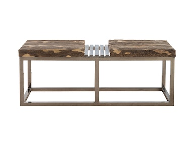 Showroom Specials Zebra Bench Gray Stone/Natural 2401-16