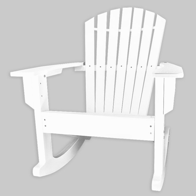 Carolina Casual Outdoor Patio Curved Adirondack Chair 111