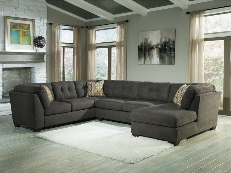 Ashley Furniture Living Room Delta City Sectional 19700s2 Hunters