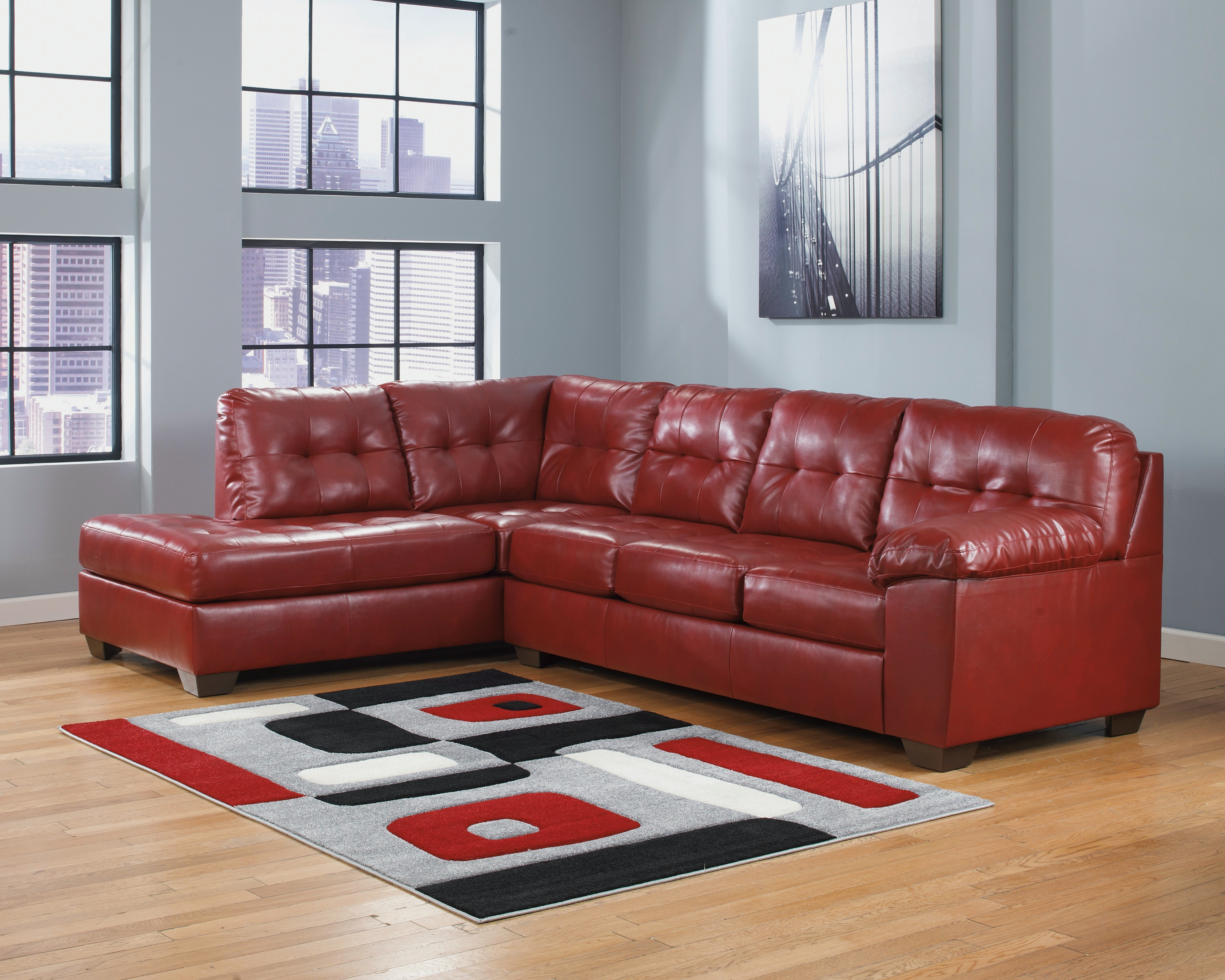 Beau Ashley Furniture Alliston DuraBlend® Sectional 20100S1