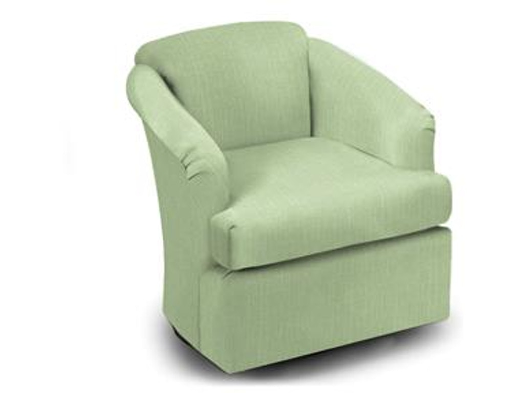 Best Home Furnishings Living Room Cass Swivel Chair 2568