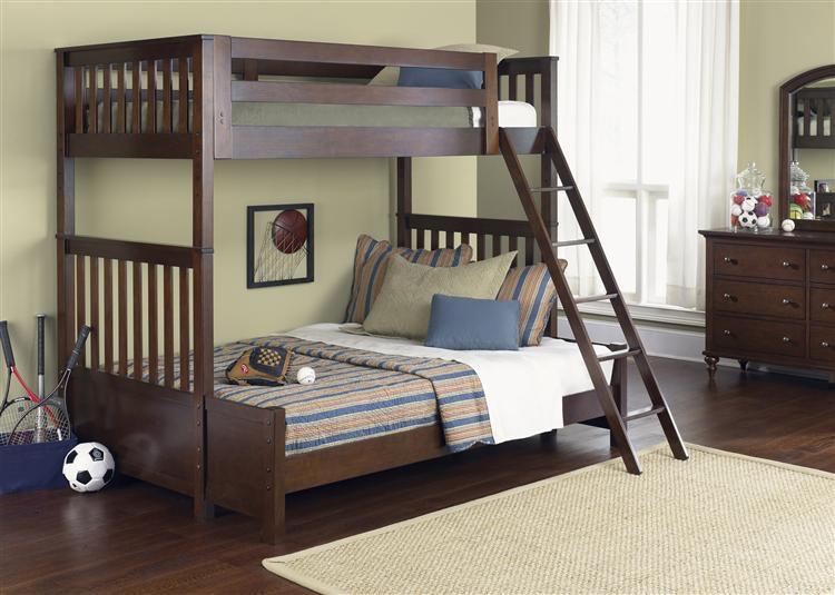 Liberty Furniture Abbott Ridge Youth Bedroom   Twin/Twin 277 YBUNK TTB