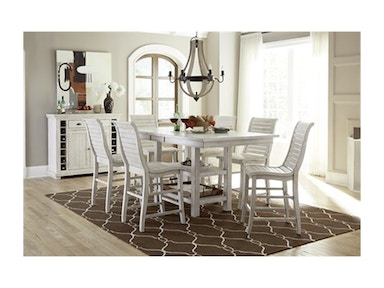 Progressive Furniture Willow Counter Height Dining Table P820-12B/T
