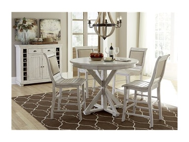 Progressive Furniture Willow Counter Height Dining Table P820-15B/T
