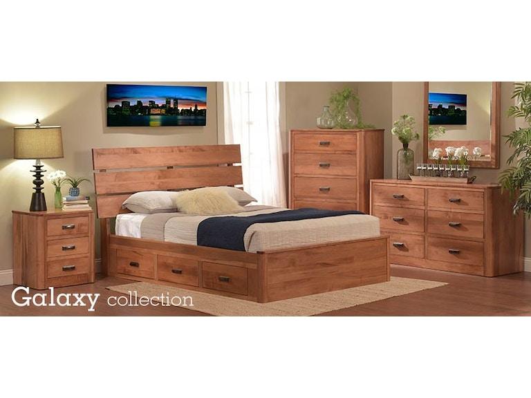 Millcraft Amish Made Bedroom Set Galaxy1 Seiferts Furniture