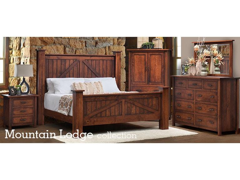 Millcraft Amish Made Bedroom Set Mountain Lodge1 Seiferts