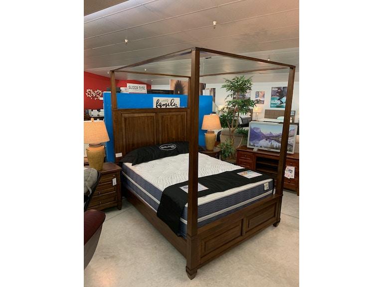Queen Canopy Bed Set