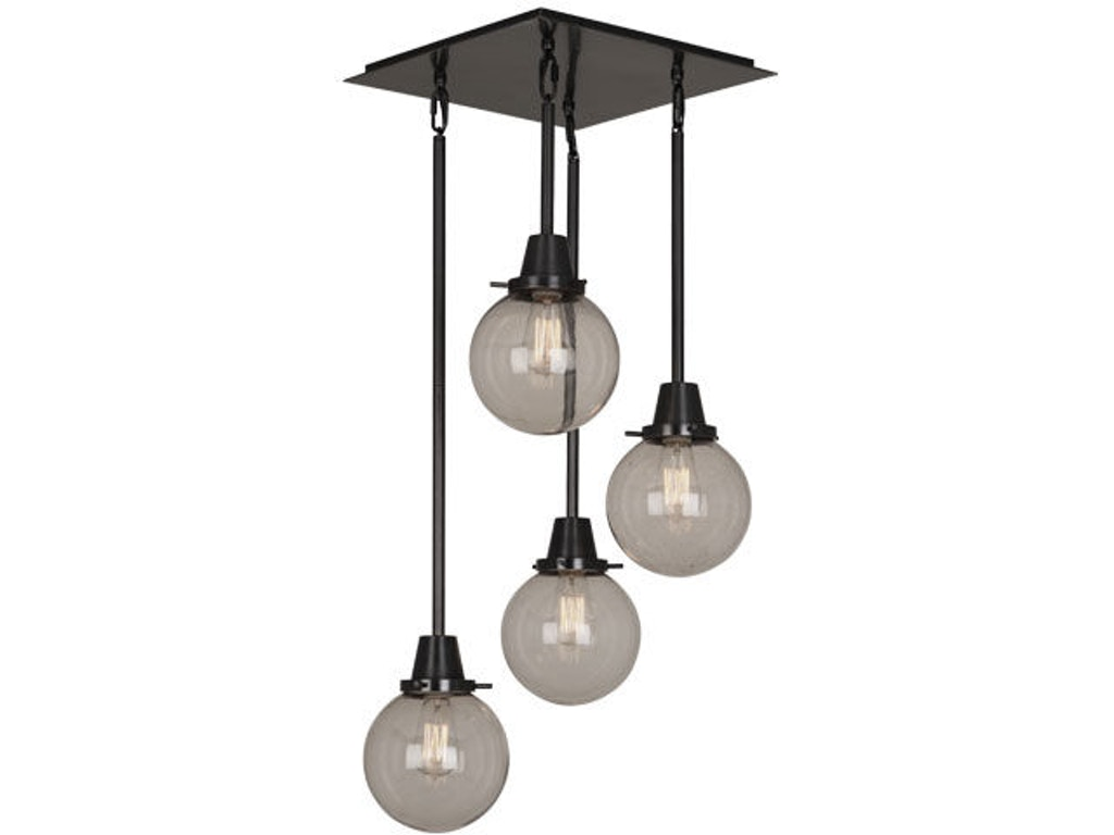 Bistro Globe Bath Sconce 4 Light: Currey And Company Lamps And Lighting Moorsgate Pendant