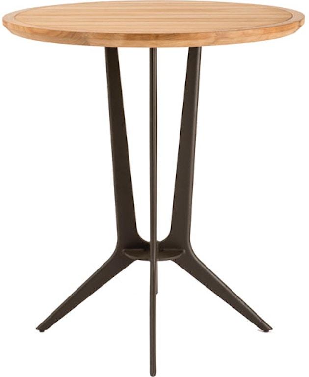 Mcguire Farallon Outdoor Teak Bistro Table Mcg 379