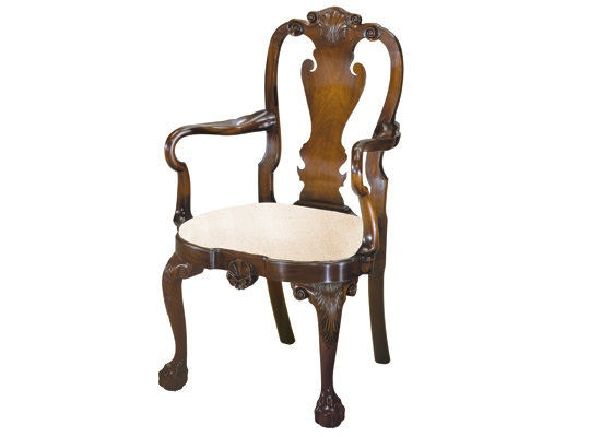 Kindel Philadelphia Queen Anne Armchair KDL83073 Queen Anne Armchair A0