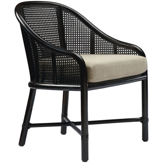McGuire Caned Barrel Chair MCG.M 423