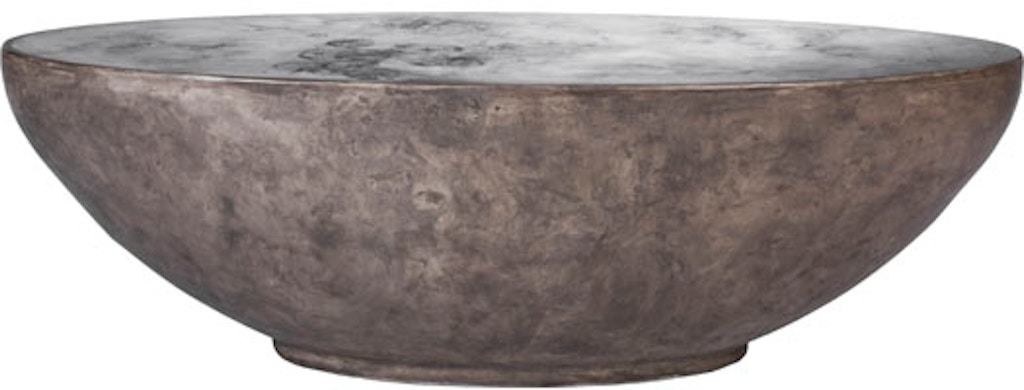 McGuire Living Room Oval Concrete Cocktail Table MCGPHC - Oval concrete coffee table