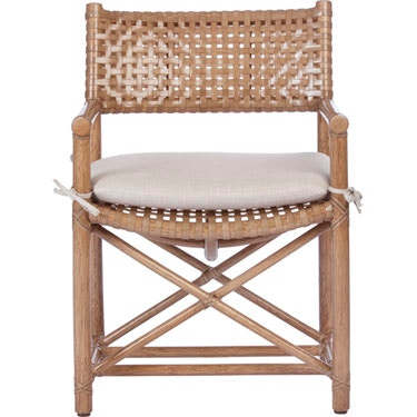 Etonnant McGuire Antalya Laced Rawhide Arm Chair MCG.LM 45