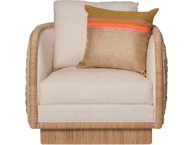 Mcguire Living Room Laura Kirar Coastal Braided Swivel