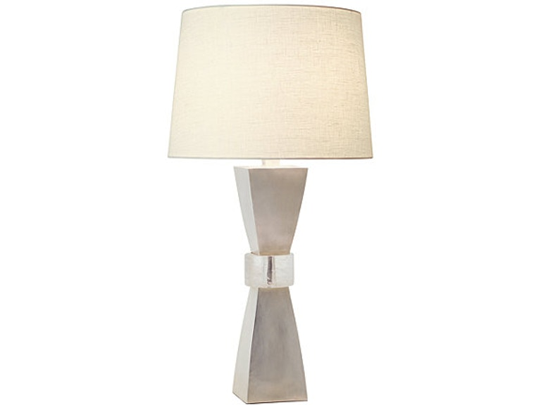 Mcguire Lamps And Lighting Robert Kuo Crystal Cuff Lamp Mcg