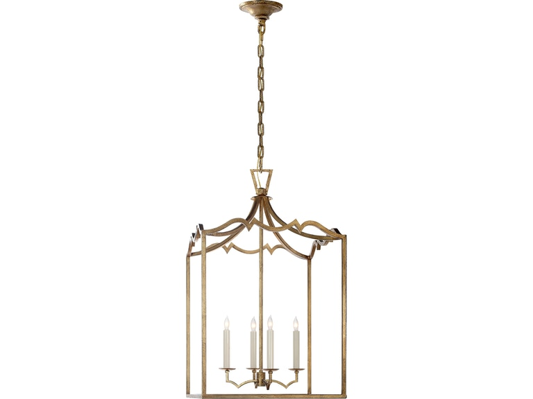 Visual Comfort Darlana Medium Fancy Lantern In Gilded Iron Chc 2181gi
