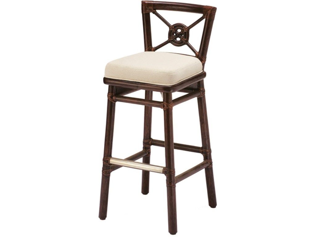 Mcguire Kitchen Rattan Target Counter Stool Mcg O 343n