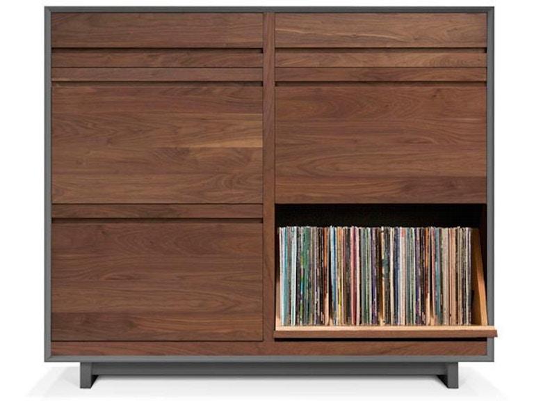 Symbol Audio Lp Storage Cabinet Lpc402