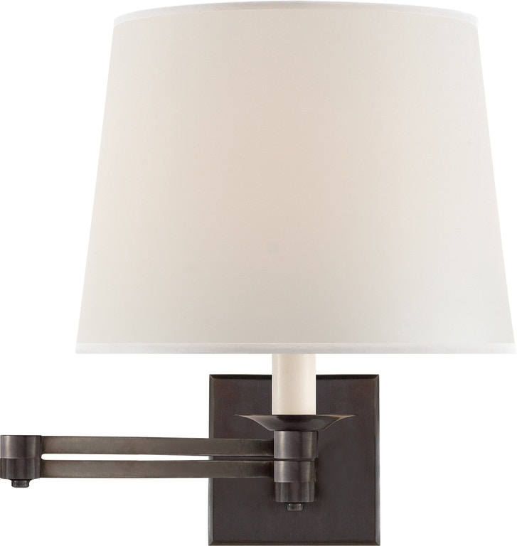 Visual Comfort Lamps And Lighting Evans Swing Arm Sconce