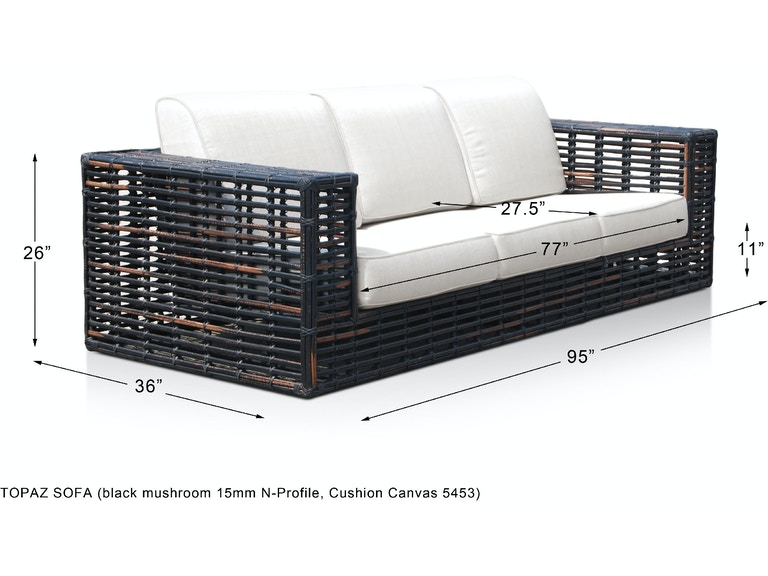 Skyline Design Topaz Sofa