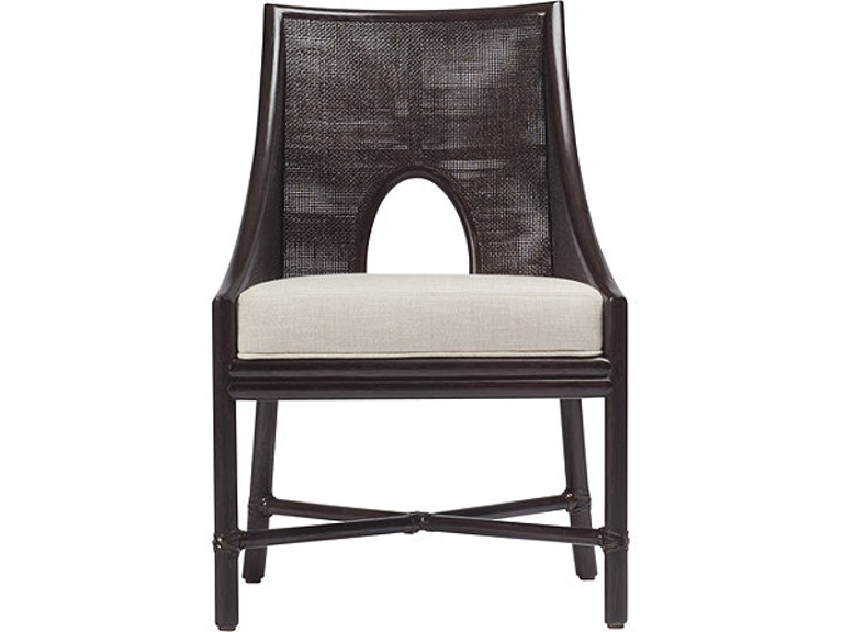 McGuire Dining Room Barbara Barry Petite Caned Arm Chair MCG ...