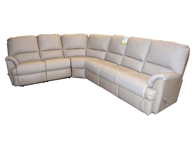 Elran MyLaine Sectional with 3 Recliners (4 pieces) 2088SECT