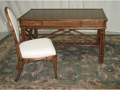 Lexington Enchanted Isle Desk and GulfStream Oval Back Chair--Warehouse Clearance, as is. 5939KIT