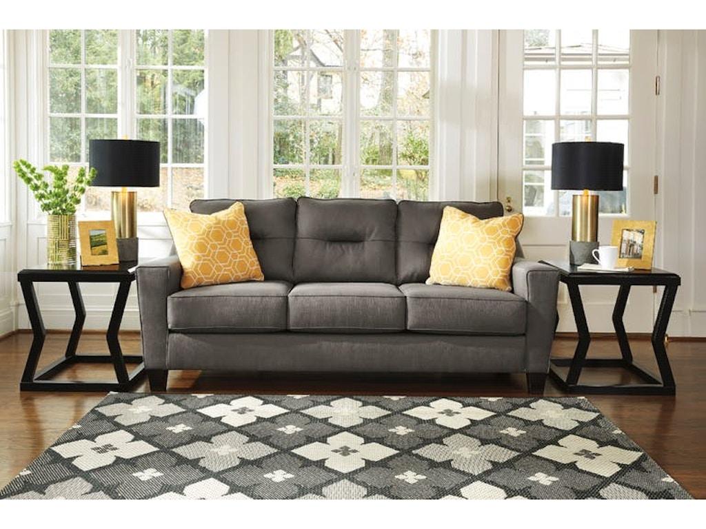 Living Room Ashley Forsan Nuvella Sofa 6690238 S Turner Furniture Company Avon Park And