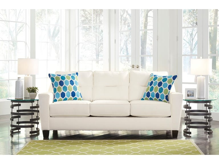 Living Room Ashley Forsan Nuvella Sofa 6690438 S Turner Furniture Company Avon Park And