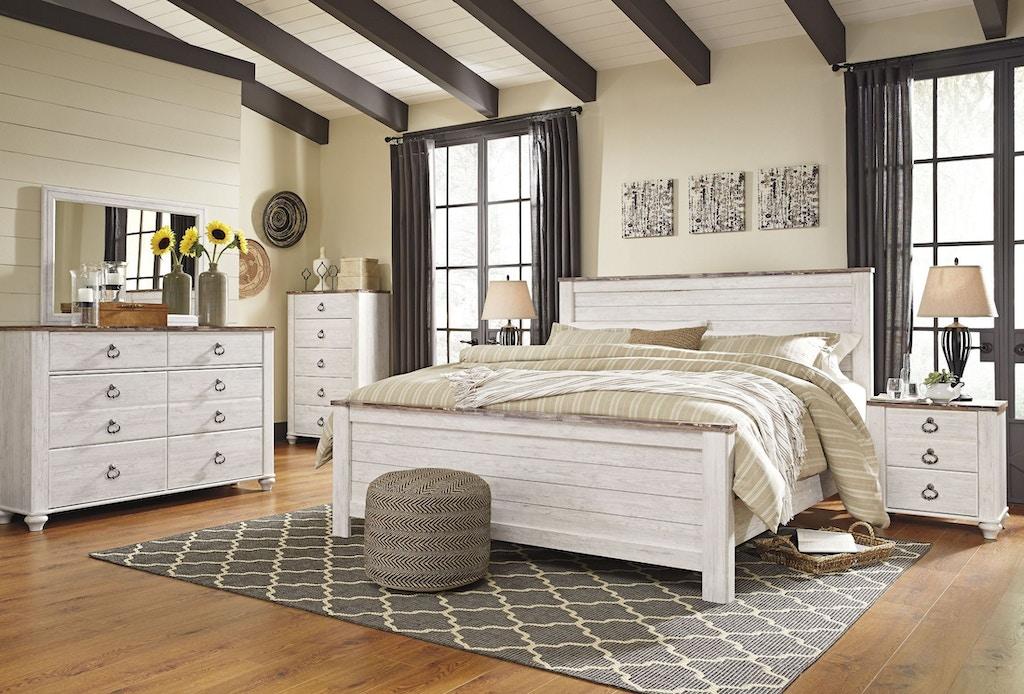 Ashley Willowton 5 Piece Bedroom Set