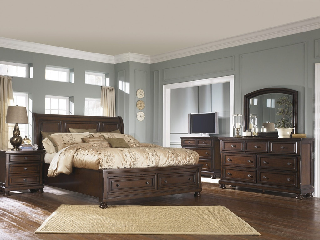 Ashley Porter 5 Piece Bedroom Set