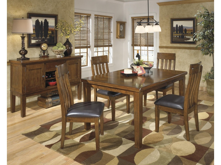 Living Room Ashley Ralene 5 Piece Dining Set D594 35 Dr At Turner Furniture Company