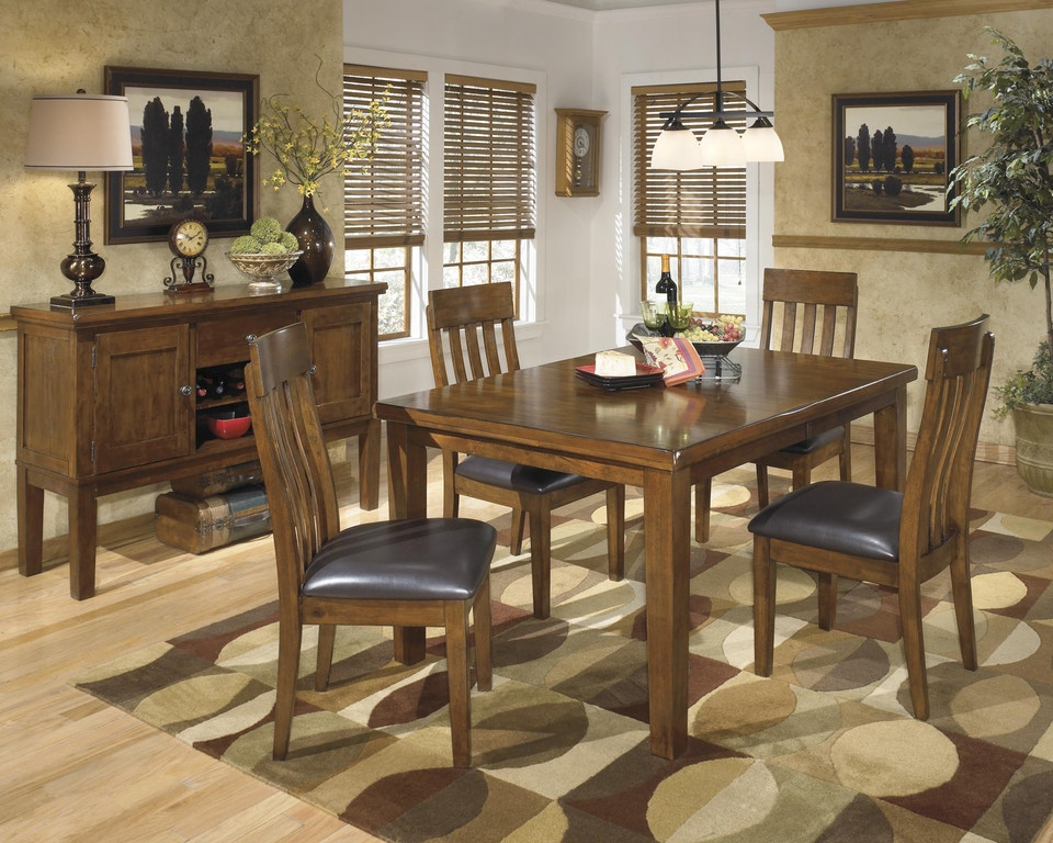 Ashley Ralene 5 Piece Dining Room Set