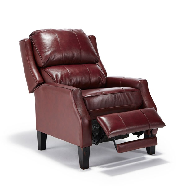 Best Home Furnishings Best Paulie Leather High Leg Recliner