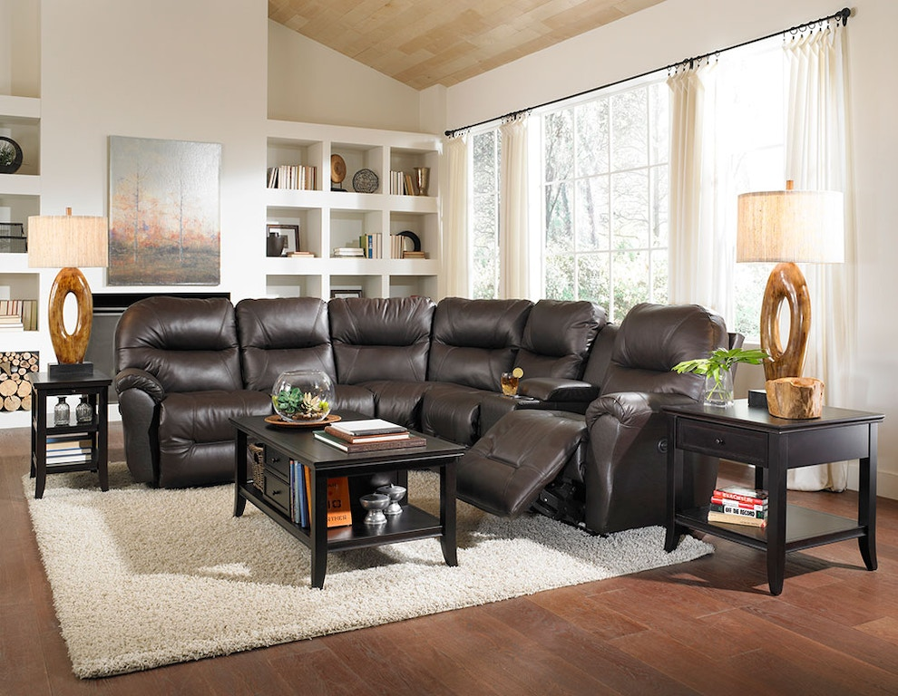 best home furnishings leather