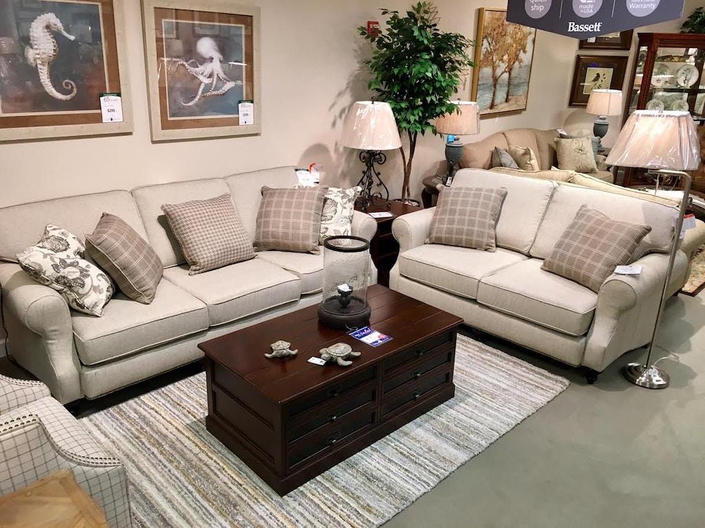 Turner Furniture Living Room Designer Sofa And Loveseat