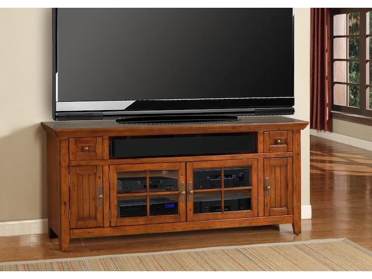 Turner Furniture 72 Antique Vintage Oak Tv Console Storage Drawer For Remotes And Gaming