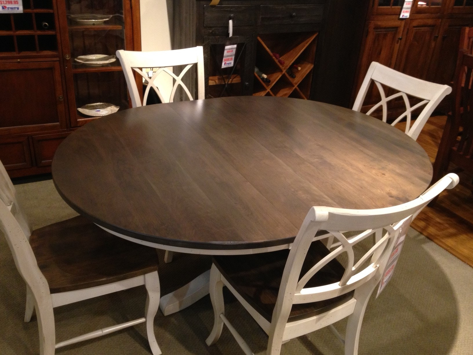 Palettes By Winesburg Dining Room 48 Quot X 48 Quot Round Table