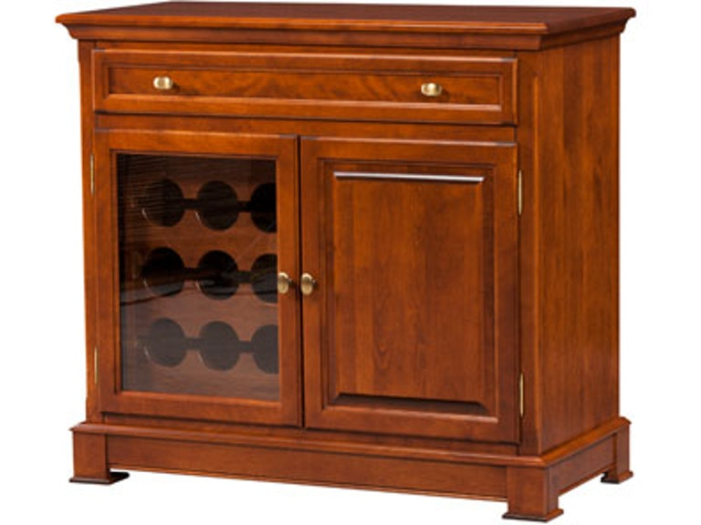 Dine Art Buffet With 1 Glass Door And Wood 10437