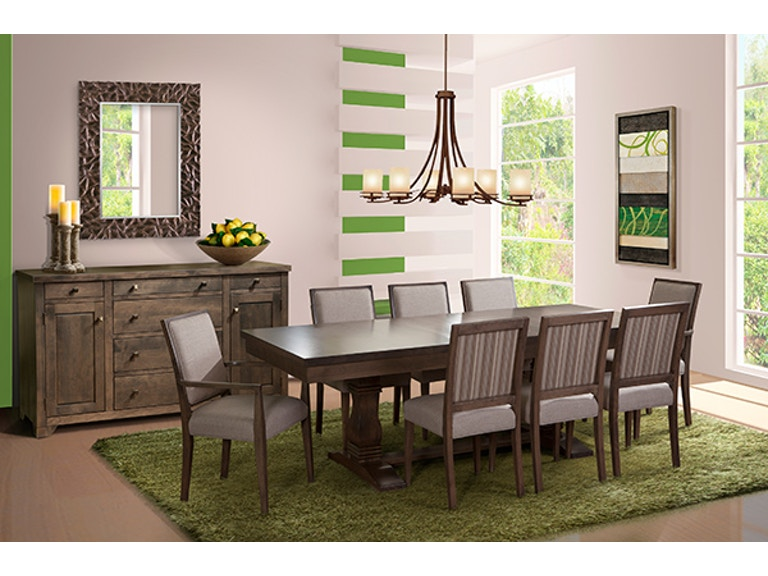 Sophistication And Style Can Be Used To Describe This DineArt Magnificent Art Dining Room Furniture