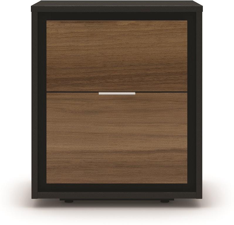 Shermag Bedroom Loft Small Nightstand 0715 0080 Upper